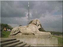 TQ3370 : Sphinx at Crystal Palace by Marathon