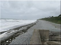 SH6017 : Coast line approaching Llanaber by Dave Spicer
