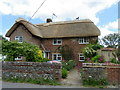 SU1126 : Thatched cottage, Coombe Bissett by Maigheach-gheal