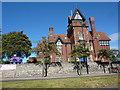 NZ3956 : Langham Tower, Sunderland High School by Alexander P Kapp