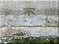 NZ6009 : Bench Mark, St Cuthbert's Church by Maigheach-gheal