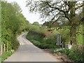SX1063 : Road at Waterlake by Derek Harper