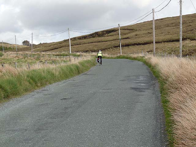 The road from Cleggan