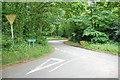 SO8383 : Crossroads Near Holy Austin Rock, Kinver. by Mick Malpass