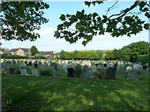 SU5707 : Wickham Road Cemetery (31) by Basher Eyre