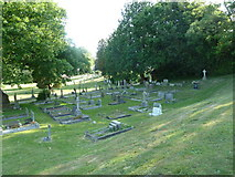 SU5707 : Wickham Road Cemetery (36) by Basher Eyre