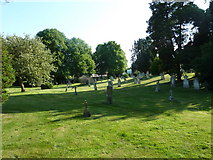 SU5707 : Wickham Road Cemetery (40) by Basher Eyre