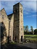 NZ4057 : St Peter's Church, Monkwearmouth, Tower by Alexander P Kapp
