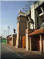 TQ1574 : West gate of Twickenham by Marathon