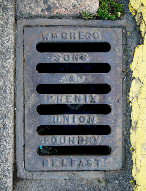 Gully grating, Newtownards