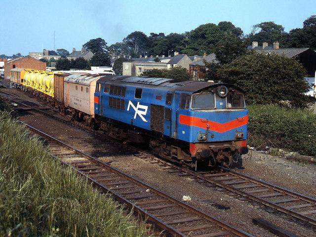 Weed Control Train Leaving Bangor C The Carlisle Kid Geograph