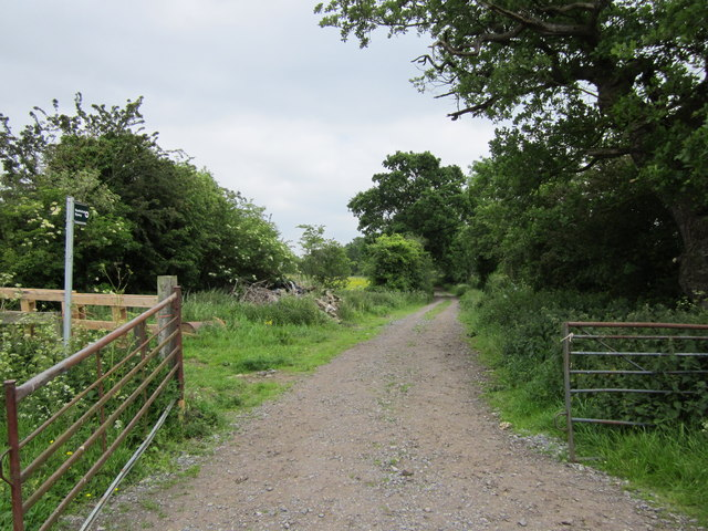 Restricted Byway at Long Green