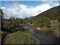 NH2124 : Abhainn Gleann nam Fiadh from near Chisholme Bridge by Trevor Littlewood