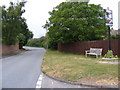 TM2442 : Main Road, Bucklesham & Bucklesham Village Sign by Adrian Cable