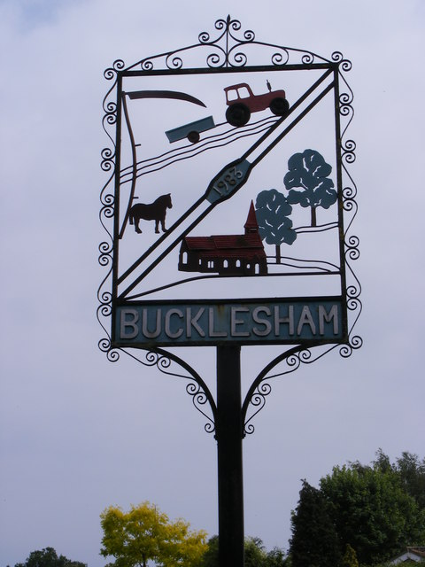 Bucklesham Village Sign