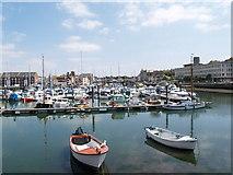 SY6778 : Weymouth Marina by Adrian King