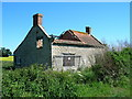 SE7775 : Disused cottage near Garforth Hall by JThomas
