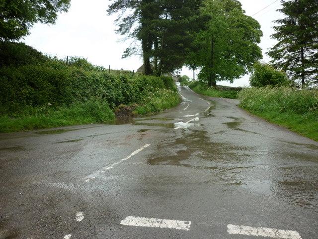 Callow Lane from Stainsborough Lane