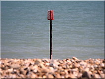 TQ7306 : Beacon on Bexhill beach by nick macneill