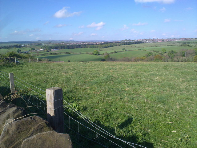 View looking West from Iveston