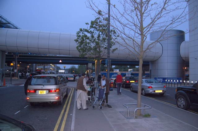 Gatwick Airport North Terminal Postcode >> Gatwick Airport Drop Off C Trevor Harris Geograph Britain And Ireland