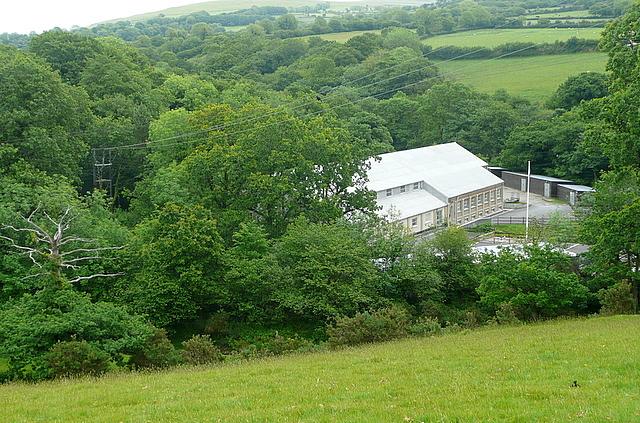 Mary Tavy power station