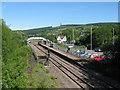 ST0381 : Pontyclun railway station by Gareth James