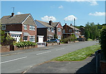 SK3569 : Houses on Endowood Road by Andrew Hill