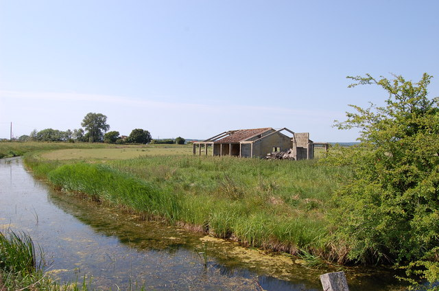 Speringbrook Sewer and Old Farm Building