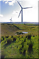 SD5664 : Caton Moor wind turbines by Ian Taylor