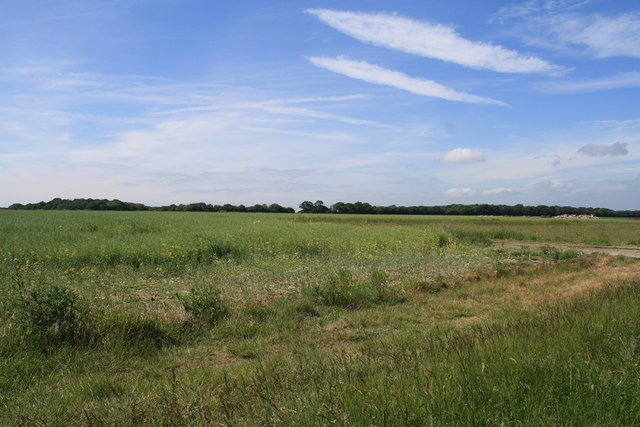 View over Thorpe Abbotts airfield