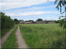 SK8354 : Rose Vale Farm by Jonathan Thacker
