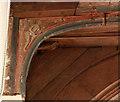 TQ5680 : St Michael, Aveley - Chancel screen detail by John Salmon