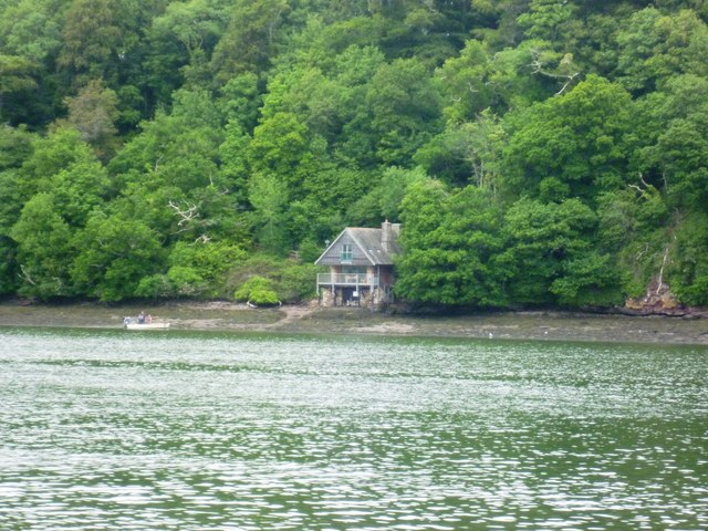 Boathouse in East Wood