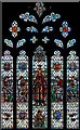 TQ5193 : St John the Evangelist, Havering atte Bower - Stained glass window by John Salmon