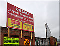 J3273 : Broadway development site, Belfast (2) by Albert Bridge