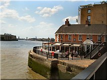 TQ3680 : The Narrow, Limehouse by Paul Gillett