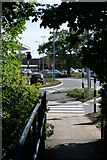 SK2003 : Path leading to, The Jolly Sailor Retail Park by Chris' Buet