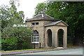 SJ5509 : Lodge near Norton by Stephen Richards