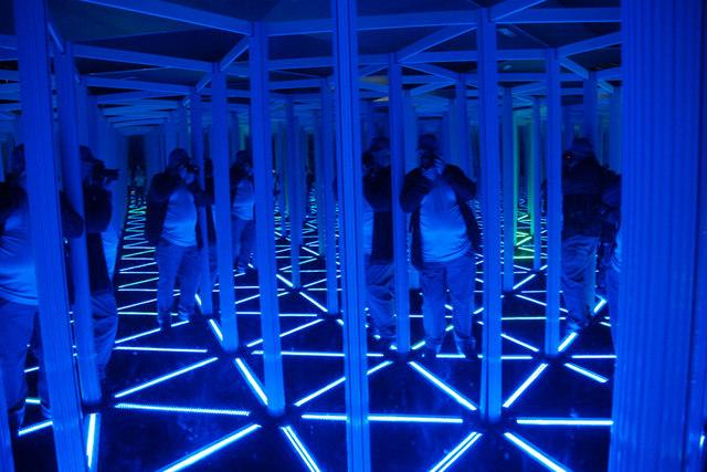Hall of mirrors, Camera Obscura, Edinburgh