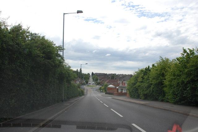 View Down Wimblebury Road.