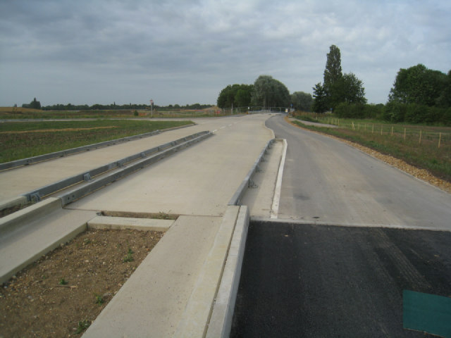 Cycleway & guided busway