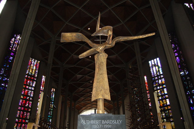 The High Altar Cross and The Cross of Nails in Coventry Cathedral