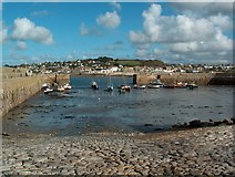 SW5130 : St Michaels Mount, The Harbour by Colin Manton