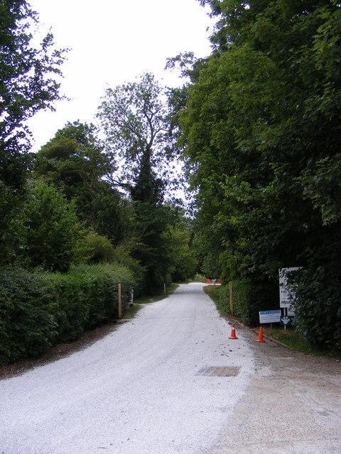 Entrance to Earl Soham Business Centre