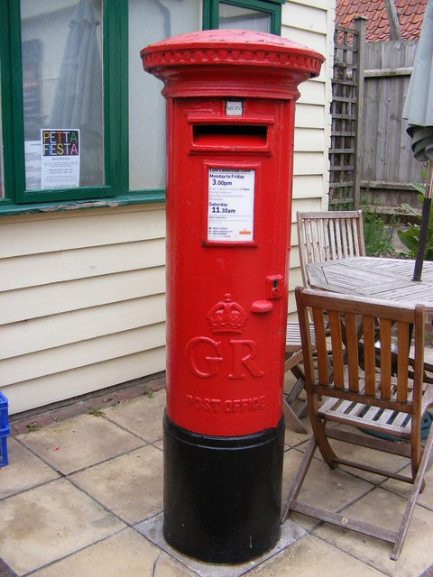 The Street Post Office George V Postbox