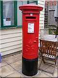 TM2363 : The Street Post Office George V Postbox by Adrian Cable