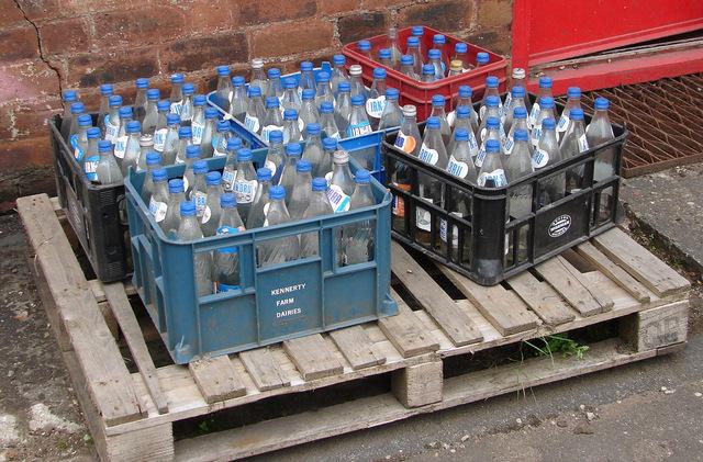 100 Irn Bru bottles