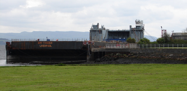 AMT Trader at Port Glasgow