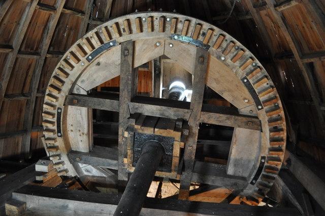 Haddenham Great Mill - Brake Wheel
